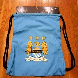 NWT Manchester City premier league Cinch sack bag